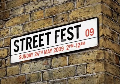 StreetFest Flier